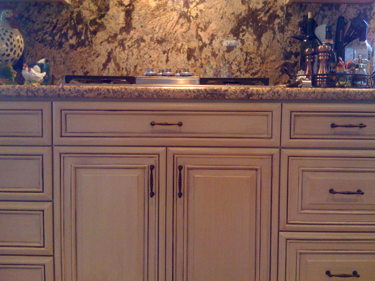 Faux Finish Cabinet