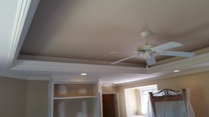 Ceiling after