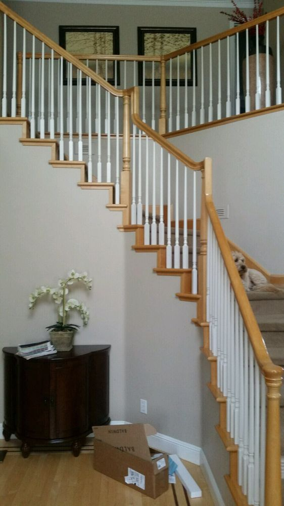 stair-bannister-paint-before